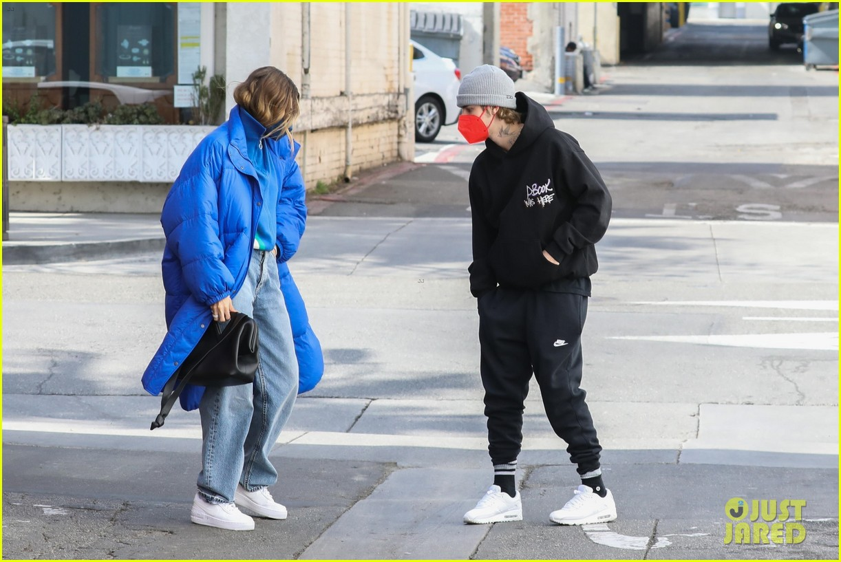 justin hailey bieber lunch ahead of grammys 14