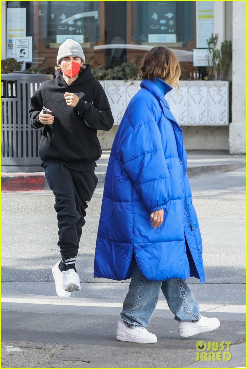justin hailey bieber lunch ahead of grammys 21