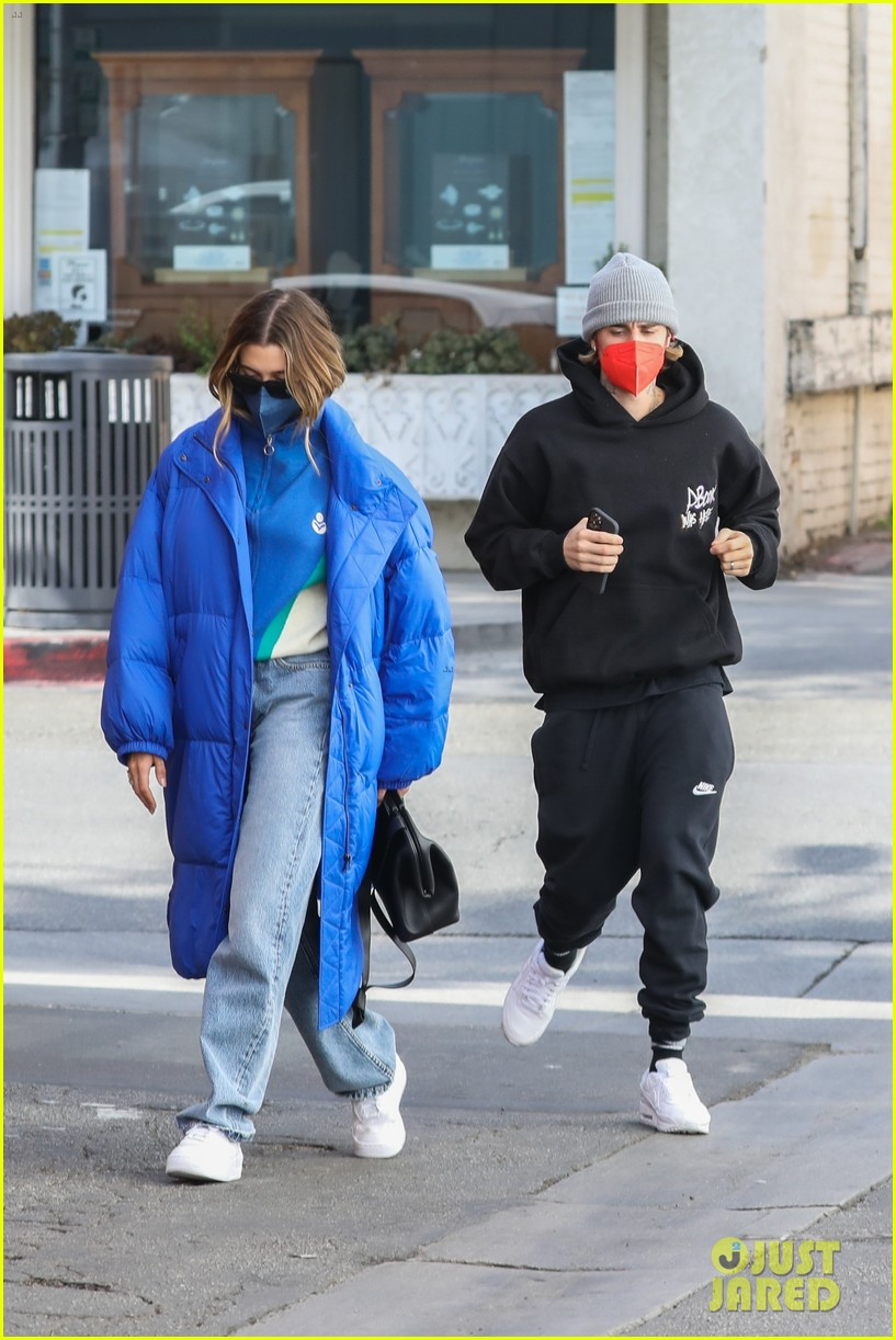 justin hailey bieber lunch ahead of grammys 24