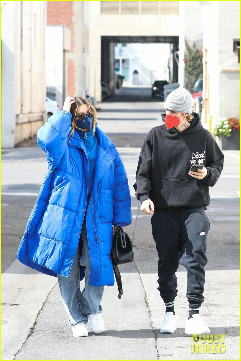 justin hailey bieber lunch ahead of grammys 33