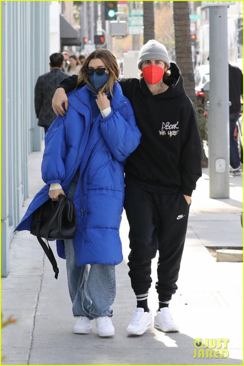 justin hailey bieber lunch ahead of grammys 38