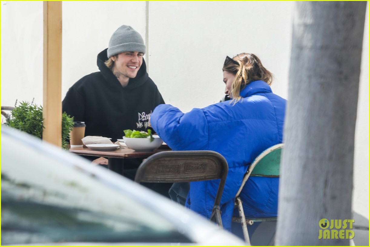 justin hailey bieber lunch ahead of grammys 41