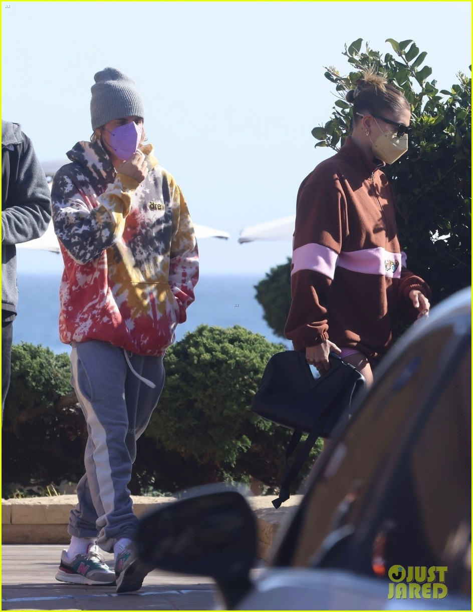 hailey justin bieber lunch nobu unstable quote 02