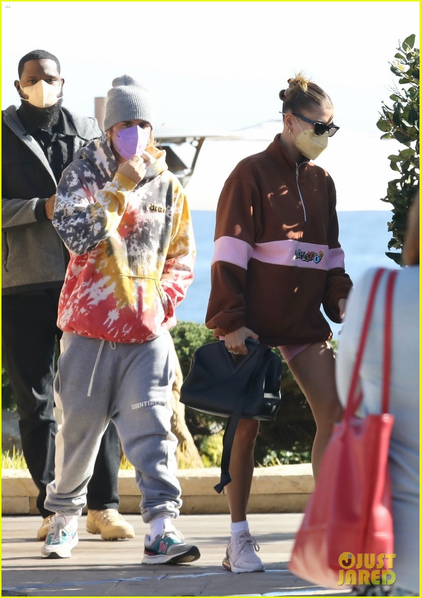 hailey justin bieber lunch nobu unstable quote 05