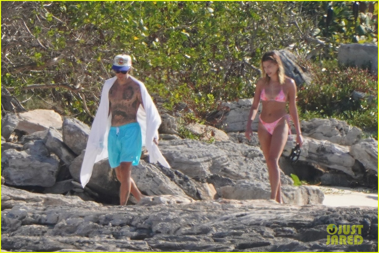justin hailey bieber march turks caicos vacation 2021 14
