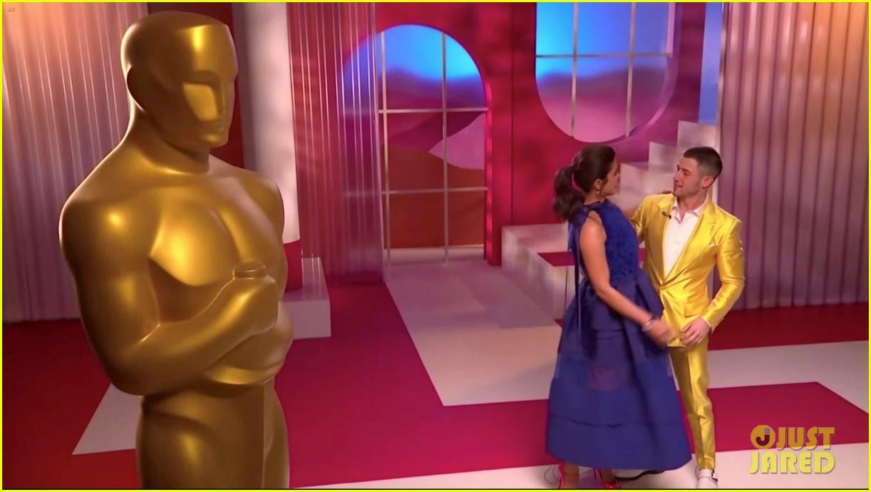 nick jonas priyanka chopra announce the oscar nominations together 10