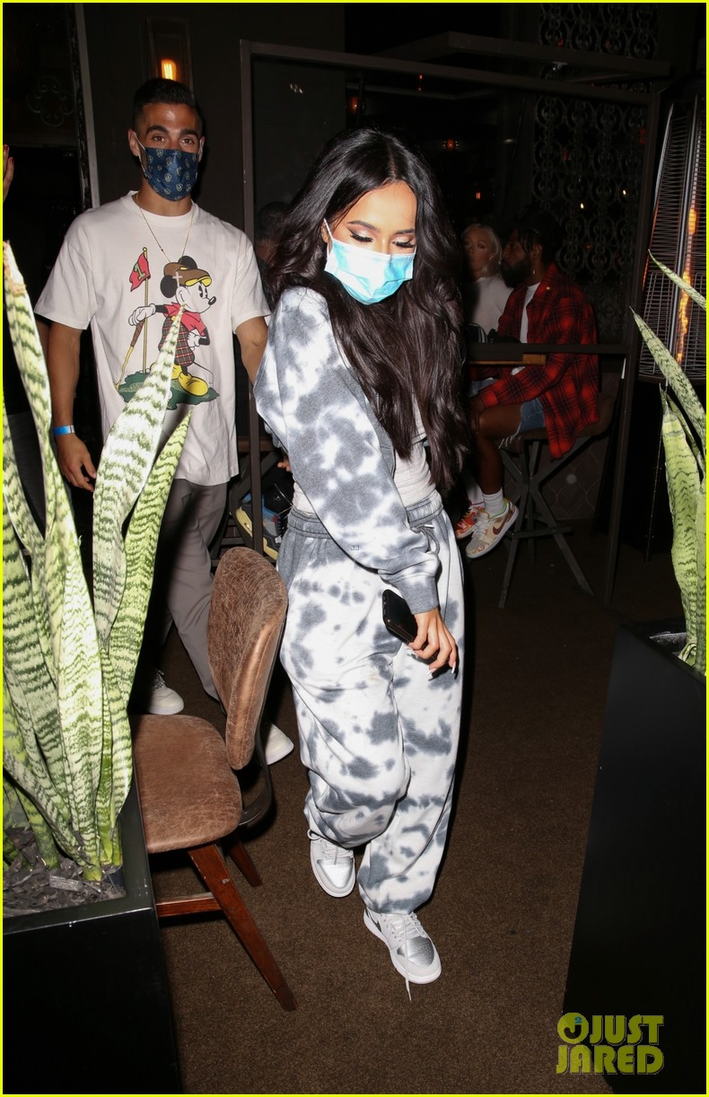 becky g beau sebastian lletget step out ahead of her new song release 04