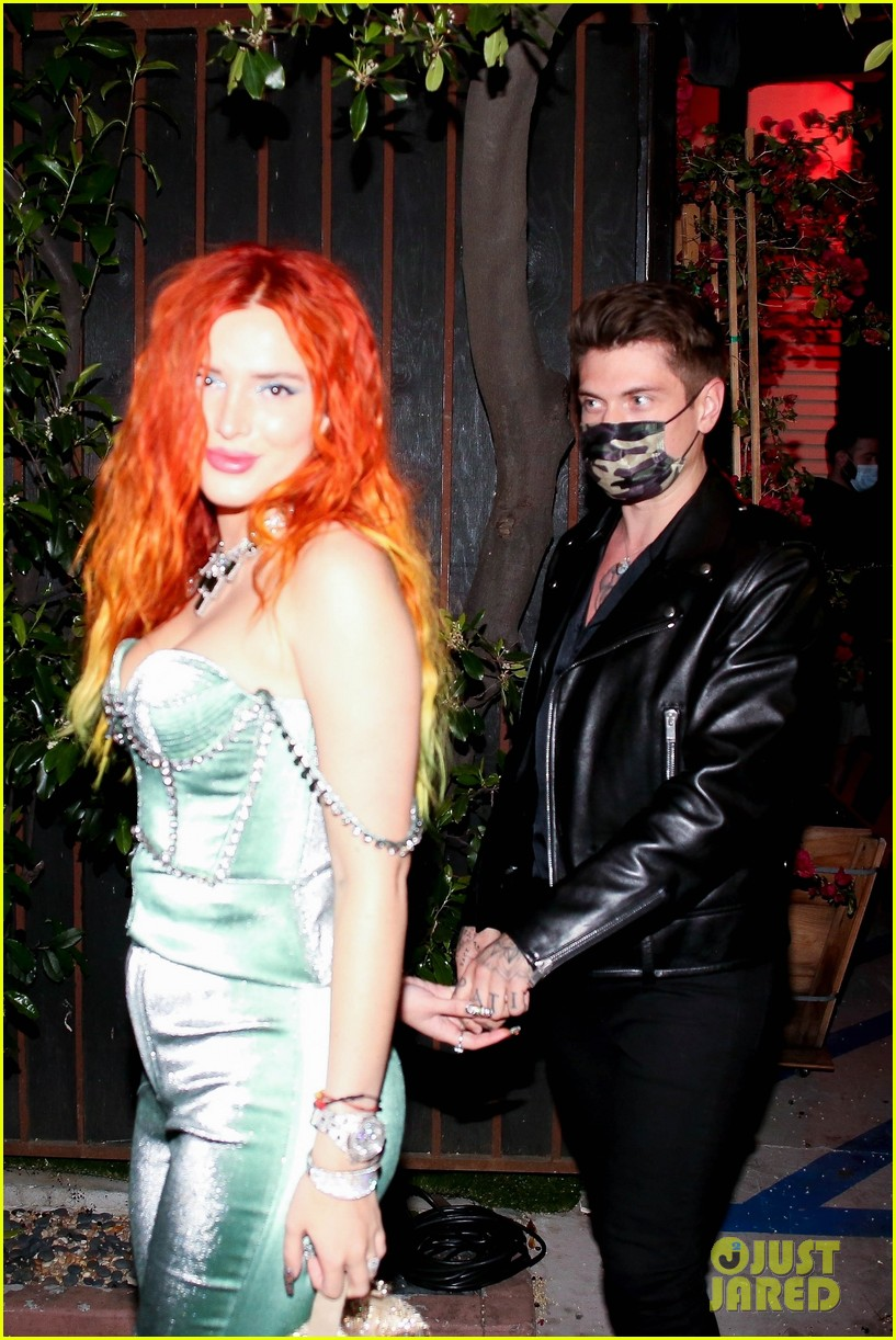 bella thorne fiance dinner date 05