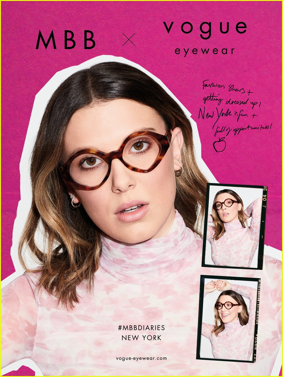 millie bobby brown drops second vogue eyewear collection 03