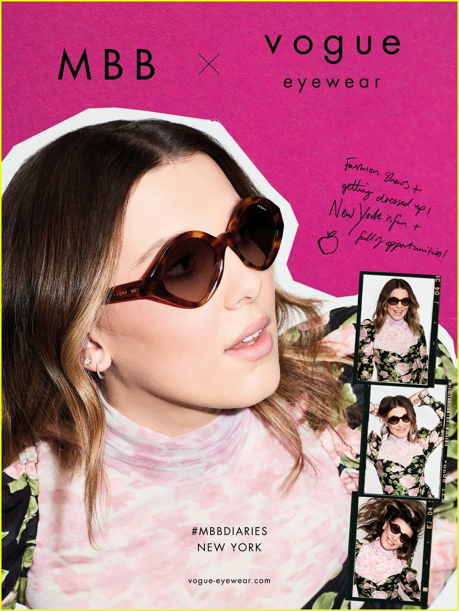 millie bobby brown drops second vogue eyewear collection 06