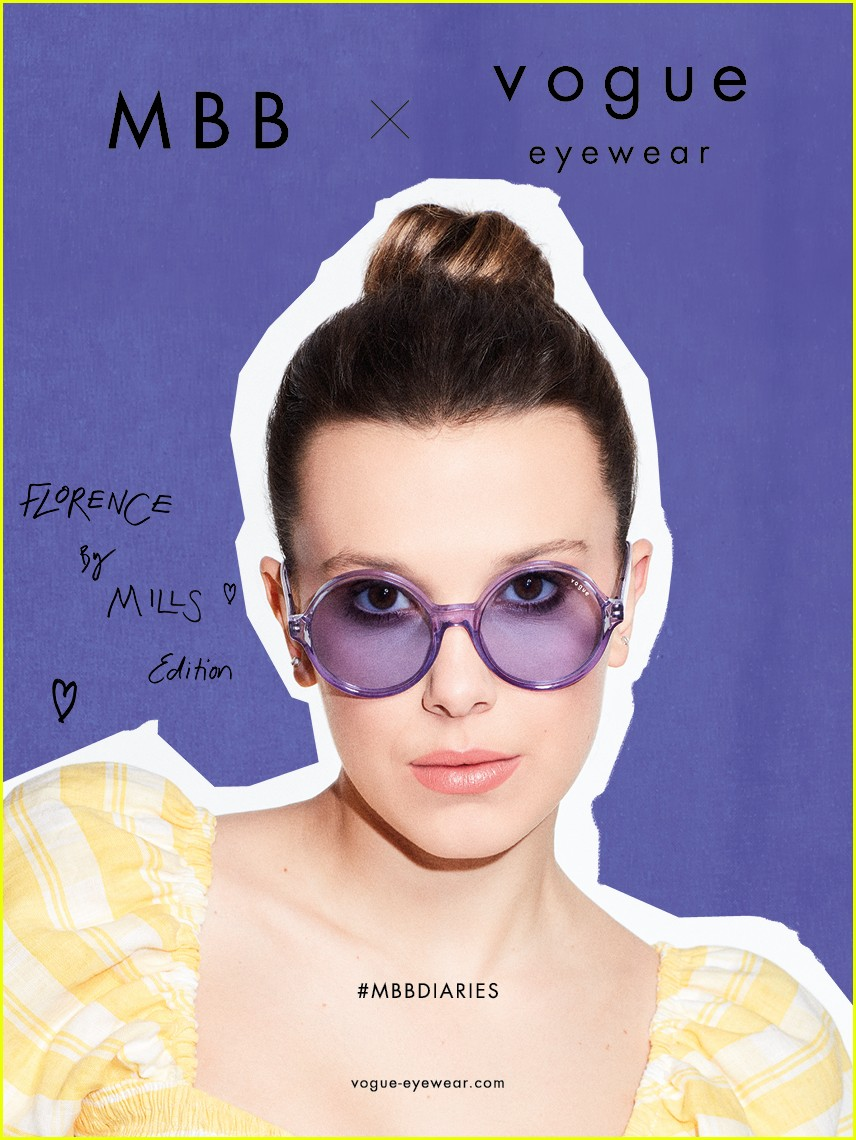 millie bobby brown drops second vogue eyewear collection 07