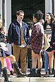 thomas doherty spotted on gossip girl set after it was revealed hes seeing someone 08