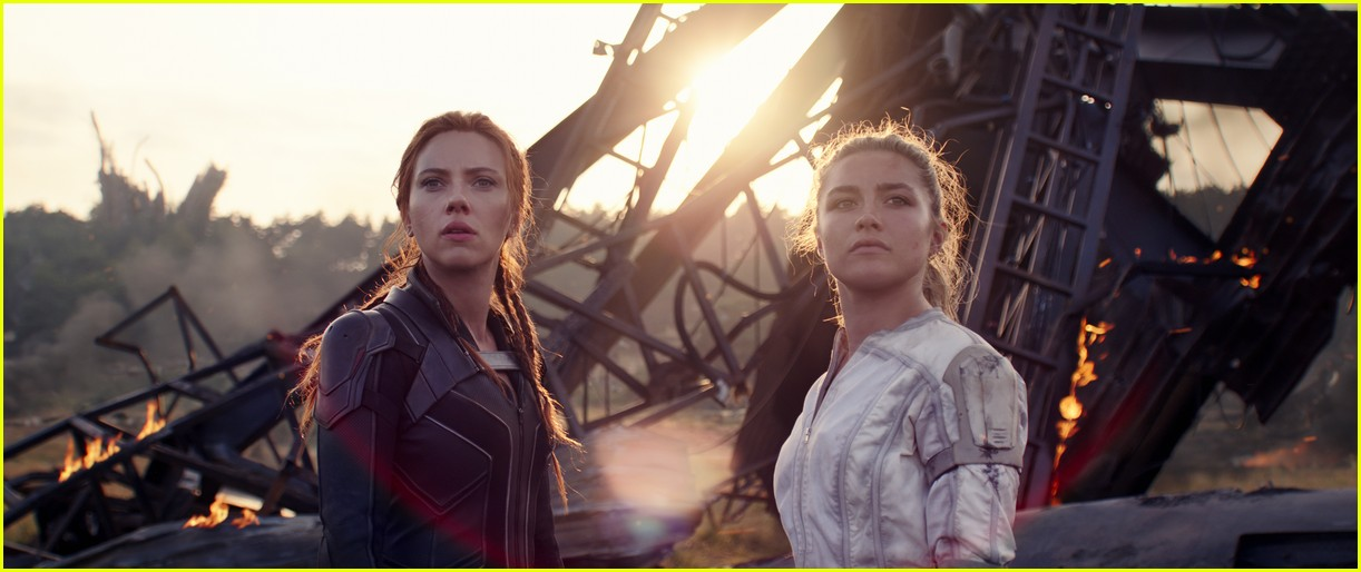 florence pugh ever anderson star in new black widow trailer 02