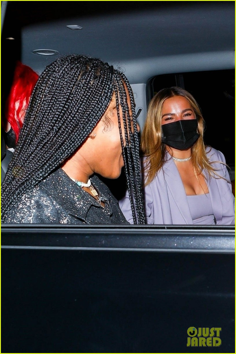 addison rae leaves charli damelios birthday party with quenlin blackwell lil nas x 03