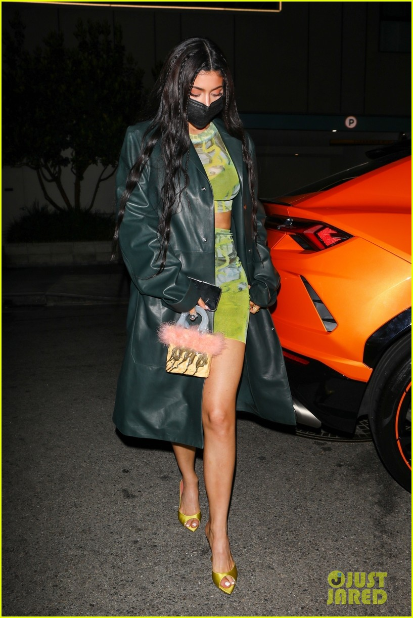 kylie jenner leaves party 01