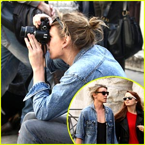 Jamie Campbell Bower & Zoe Graham: Picture Taking Pair