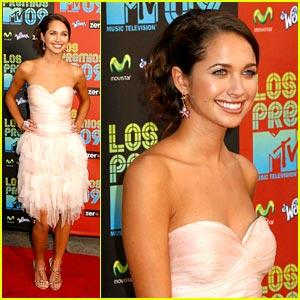 Maiara Walsh is Los Premios Pretty