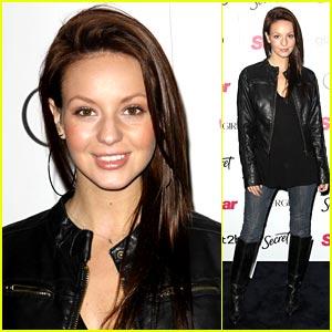 Samantha Droke is Leather Jacket Lovely