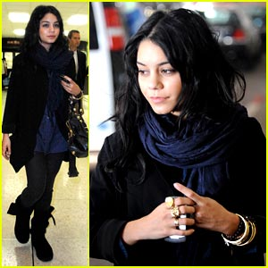 Vanessa Hudgens: To The Airport And Back