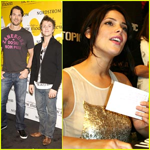 Ashley Greene Charms Chicago