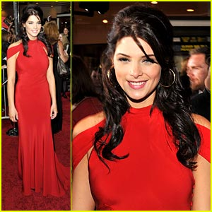 Ashley Greene: Lady In Red