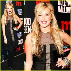 Ashley Tisdale Rocks Red Lips