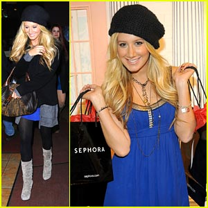 Ashley Tisdale is Sephora Sweet