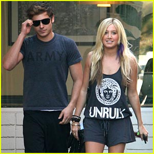 Zac Efron &#038; Ashley Tisdale: Patys Pair
