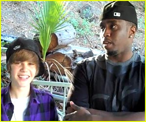 Justin Bieber Hangs with Diddy