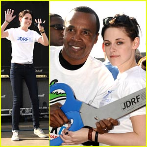 Kristen Stewart Walks For Diabetes Awareness