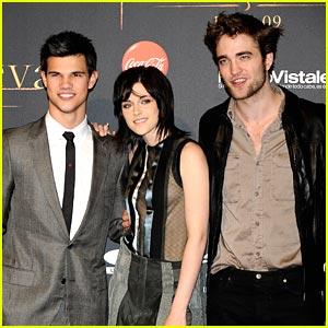 Kristen, Taylor & Rob: Madrid Mates