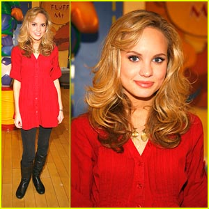 Meaghan Martin Promotes Holly & Hal
