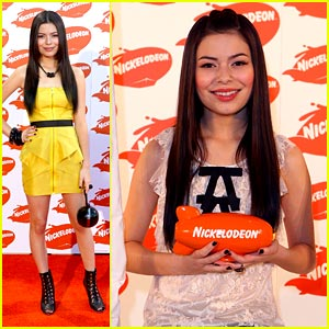 Miranda Cosgrove: Australian Kid Choice Awards 2009