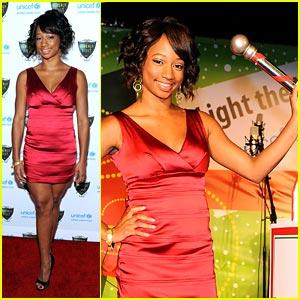 Monique Coleman Lights Up UNICEF