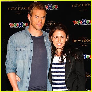 Nikki Reed & Kellan Lutz Are Toys 'R Us Kids