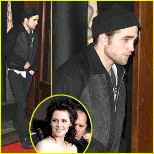 Robert Pattinson & Kristen Stewart: Megu Mates