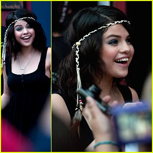 Selena Gomez Rocks House of Blues