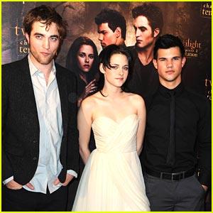 Robert Pattinson & Taylor Lautner: Costes Comrades