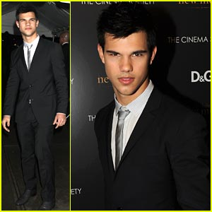 Taylor Lautner Turn On: Don't Put On A Show