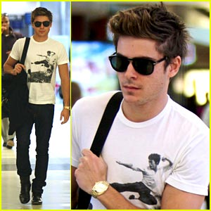 Zac Efron Gets Flustered Over Zac Posen