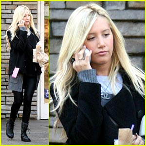 Ashley Tisdale is a Coffee Bean Beauty