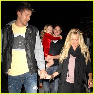 Ashley Tisdale & Scott Speer: Christmas Couple
