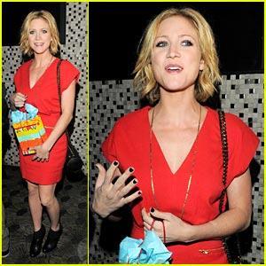 Brittany Snow: Vanessa Hudgens' Birthday Bash!