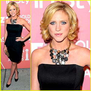 Brittany Snow is Golden Globe Glamorous