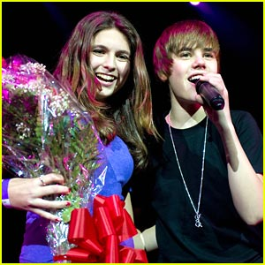 Justin Bieber Finds One Less Lonely Girl