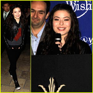 Miranda Cosgrove Makes A Wish