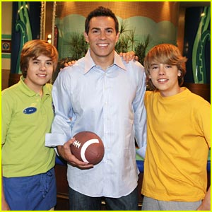Dylan & Cole Sprouse: Football Fantasy Come True!