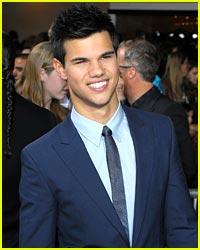 Taylor Lautner For Giorgio Armani?