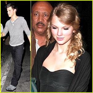 Taylor Lautner & Taylor Swift: Benihana Buds