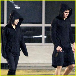 Zac Efron & Vanessa Hudgens: Fitness Friends